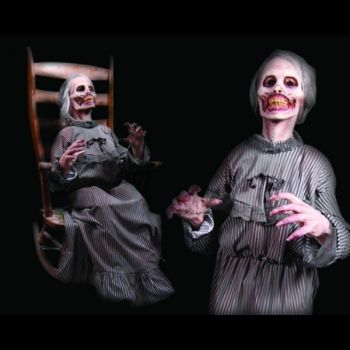 Mother Animated Halloween Prop