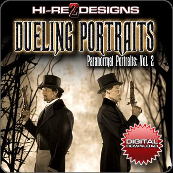 DUELING PORTRAITS: PARANORMAL PORTRAITS - VOL. 2 - HD - DIGITAL DOWNLOAD