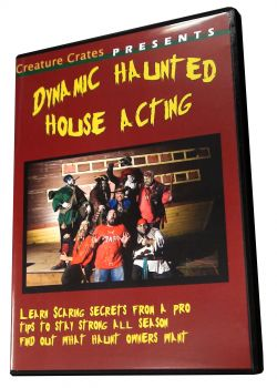 Dynamic Haunted House Acting Volume 1 and 2: Two Disc Volume
