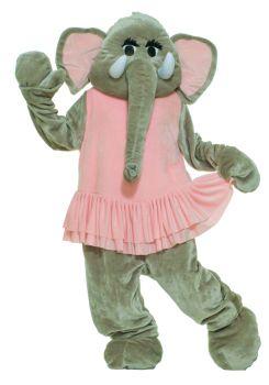 Elephant Dancing Mascot