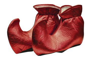 Elf Shoes Cloth Red