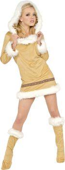 Women's Eskimo Kisses Costume - Adult Large