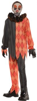 Child's Evil Clown Costume - Child M (6 - 8)