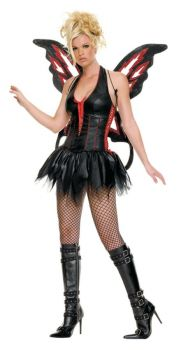 Women's Gothic Fairy Costume - Adult Large