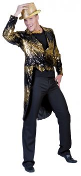 Glitter Tailcoat - Gold - Adult Small