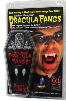 Dracula Fangs - Clam Shell - Large
