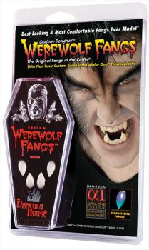 Werewolf Fangs - Clam Shell - Large