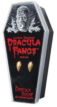 Dracula Gold Fangs - Large