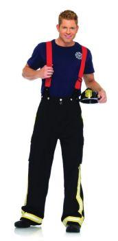 Men's Fireman Costume - Adult X-Large
