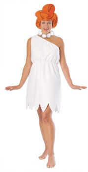 Women's Wilma Costume - The Flintstones - Adult OSFM