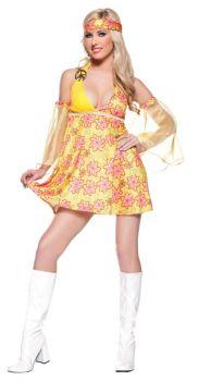 Flower Child Costume Adult Lg