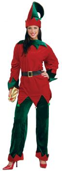 Deluxe Elf Costume - Adult OSFM