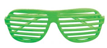 Neon Slot Glasses - Green