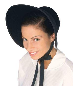 Bonnet Felt - Black