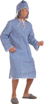 Men's Scrooge Shirt & Hat Costume - Adult OSFM