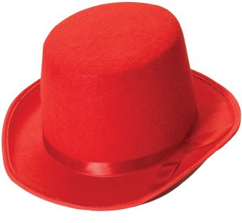 Top Hat Adult - Red