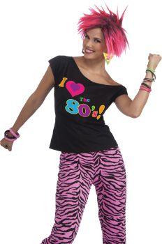 80s Shirt - Adult S/M (2 - 6)