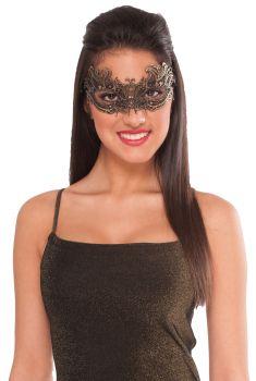 Women's Lace Mask - Gold