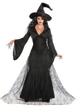 Women's Black Mist Witch Costume - Adult XS/S (2 - 6)