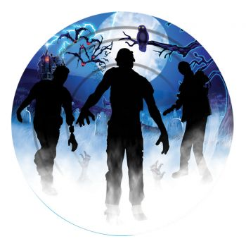"""Zombie Party Plates - Pack Of 8 - 7"""""""