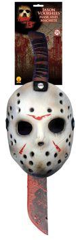 Friday 13th Jason Mask Machete