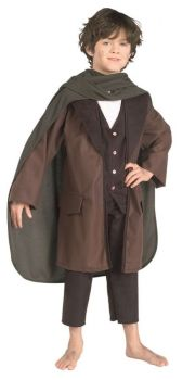 Boy's Frodo Costume - Lord Of The Rings - Child Small
