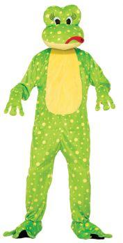 Frog Freddy The  Mascot