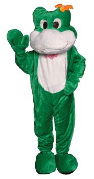 Frog Mascot Adult One Size