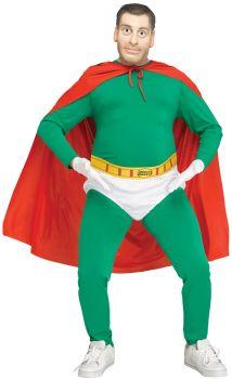 Men's Captain Fat Belly Costume - Impractical Jokers