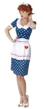 Women's I Love Lucy Sassy Costume - Adult M/L (10 - 14)