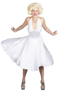 Women's Marilyn Monroe Deluxe Costume - Adult M/L (10 - 14)