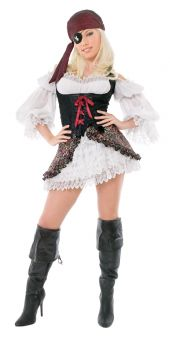 Playboy Buccaneer Beauty - Adult S (6 - 8)