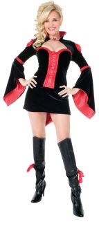 Women's Playboy Vamptease Costume - Adult M (10 - 12)