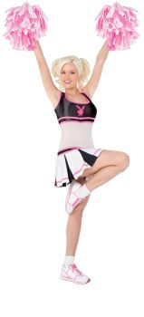 Women's Playboy Cheerleader Costume - Adult M (10 - 12)