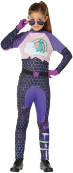 Brite Bomber Child Costume - Fortnite - Child L (12 - 14)