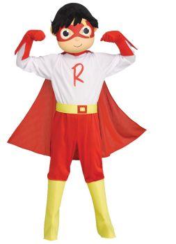 Red Titan Toddler Costume -Ryan's World - Toddler (3 - 4T)