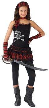 Pirate Skull Rocker - Teen L (12 - 14)