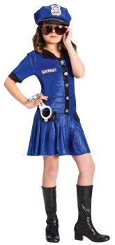 Police Girl - Child L (12 - 14)