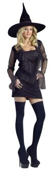 Women's Sparkle Witch Costume - Adult M/L (10 - 14)
