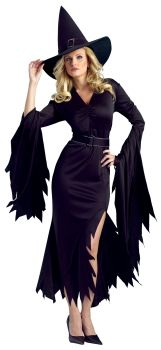 Women's Gothic Witch Costume - Adult M/L (10 - 14)