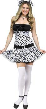 Women's Dalmatian Costume - Adult S/M (2 - 8)