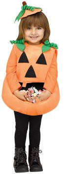 Candy Collector Pumpkin Toddler Costume