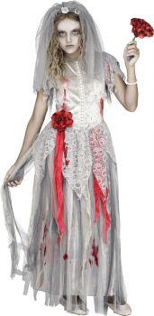 Zombie Bride Costume - Child L (12 - 14)