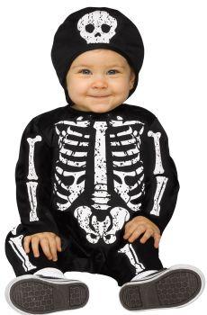 Baby Bones - White - Toddler (12 - 24M)