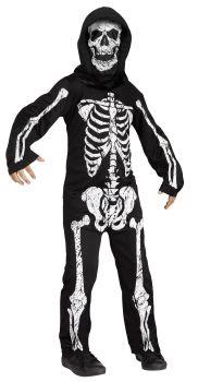 Skeleton Phantom White - Child L (12 - 14)