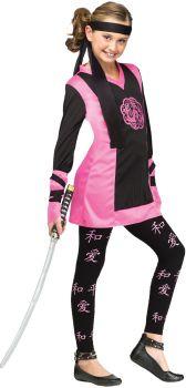 Dragon Ninja Girl - Child S (4 - 6)
