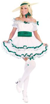 Women's Sexy Southern Belle Costume - Adult M/L (8 - 14)