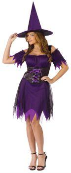 Women's Dark Witch Costume - Adult S/M (2 - 8)