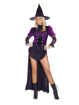 Women's Witch Burlesque Costume - Adult S/M (2 - 8)