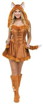 Women's Foxy Lady Costume - Adult S/M (2 - 8)
